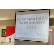DíjÁtadó - 2019 Év Sportolója, Embere